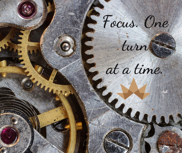Focus. One Turn at a Time.