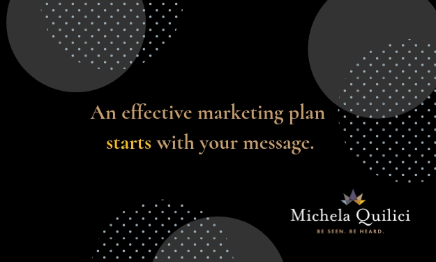 An Effective Marketing Plan Starts With Your Message