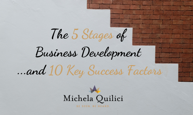 The 5 Stages of Business Development And 10 Key Success Factors